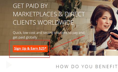 hướng dẫn đăng ký tài khoản Payoneer