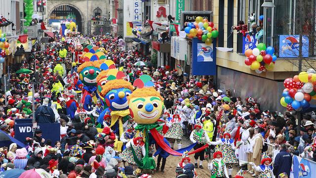 Karneval - Một trong những lễ hội độc đáo tại Đức