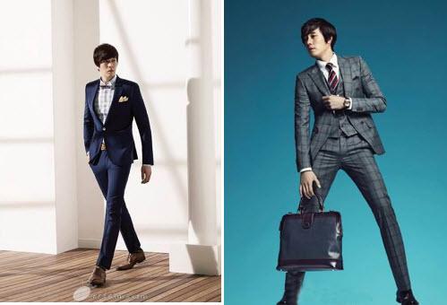 Đàn ông Hàn Quốc lịch lãm trong bộ vest thời thượng