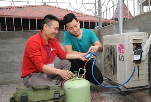 Trung tam sua chua dieu hoa Panasonic tai Vinh Phuc