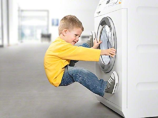 Máy giặt không mở được cửa