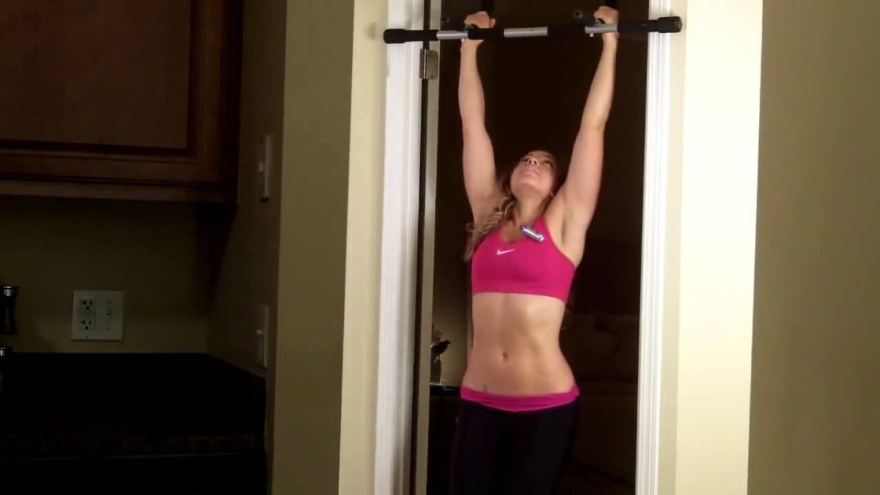 Tập xà đơn treo tường giúp giảm cân hiệu quả