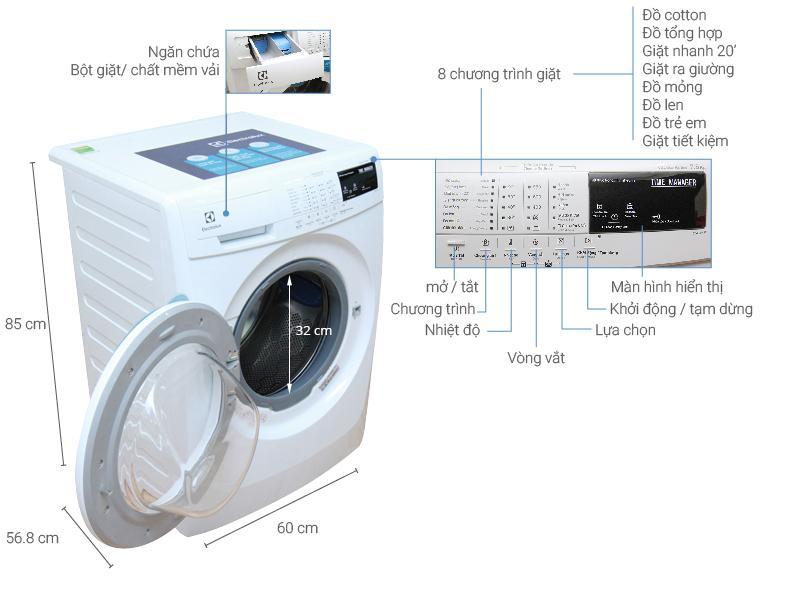 Máy giặt Electrolux khá phổ biến