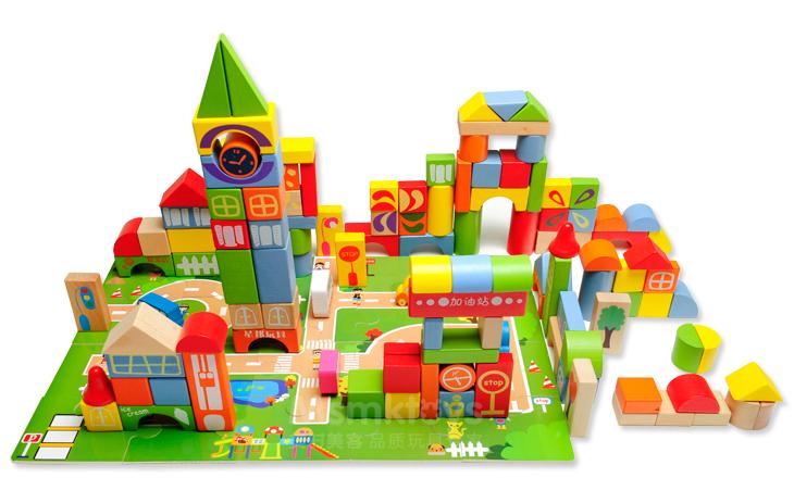 Cho trẻ tiếp cận đồ chơi giáo dục từ nhỏ giúp trẻ phát triển tốt hơn