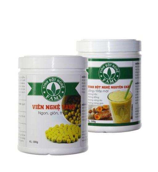 Viên nén tinh bột nghệ mật ong: sản phẩm trị bệnh hữu hiệu