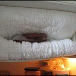 Hình ảnh tủ lạnh đóng tuyết