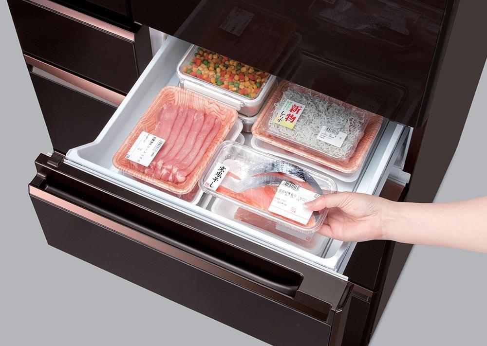 Ngăn cấp đông mềm của tủ lạnh Mitsubishi Electric