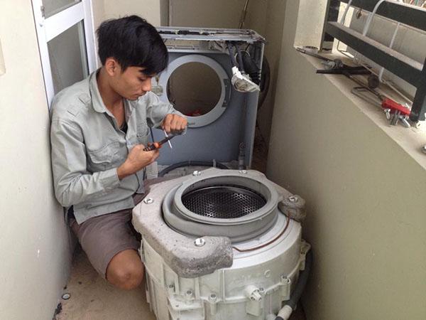 Cách khắc phục những lỗi máy giặt Samsung