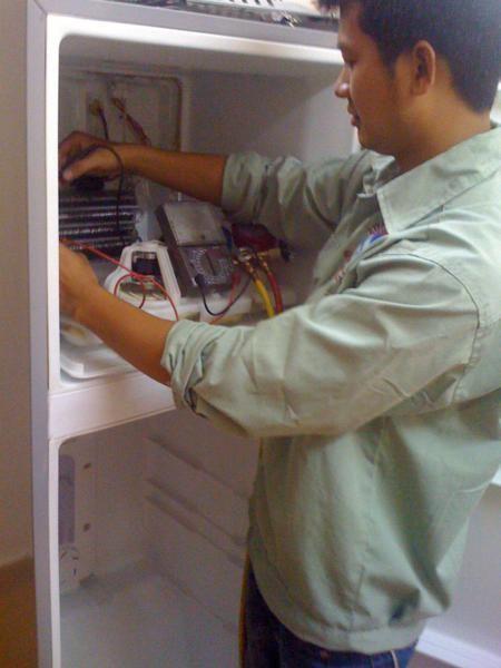 Hình ảnh sửa chữa tủ lạnh