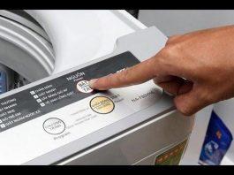 Cách đổ nước xả vải vào máy giặt Panasonic