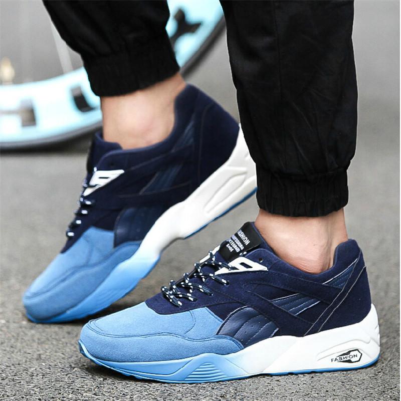 Khi chọn giày thể thao nam cũng cần cân nhắc đến màu sắc, size giày