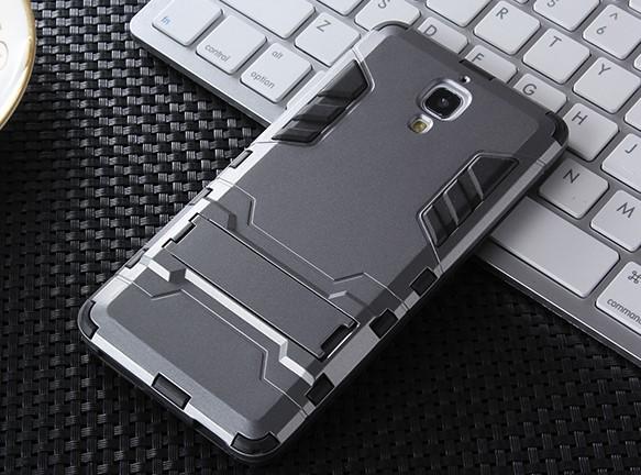 Ốp lưng điện thoại mi4 chống xước Iron Man