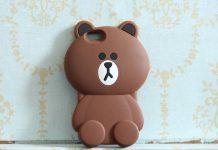 Ốp lưng gấu brown
