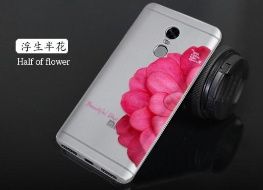 Ốp mặt lưng Xiaomi Redmi Note 4x dẻo hoa văn 3D