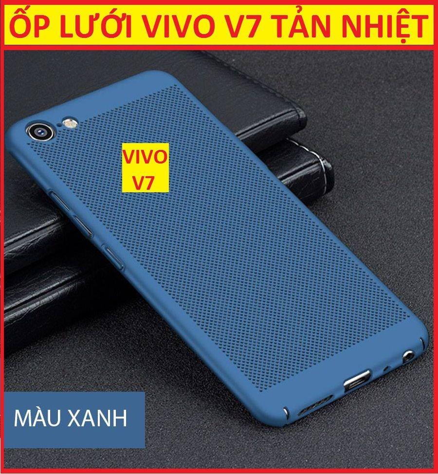 Ốp Vivo tản nhiệt dạng lưới màu xanh phong cách