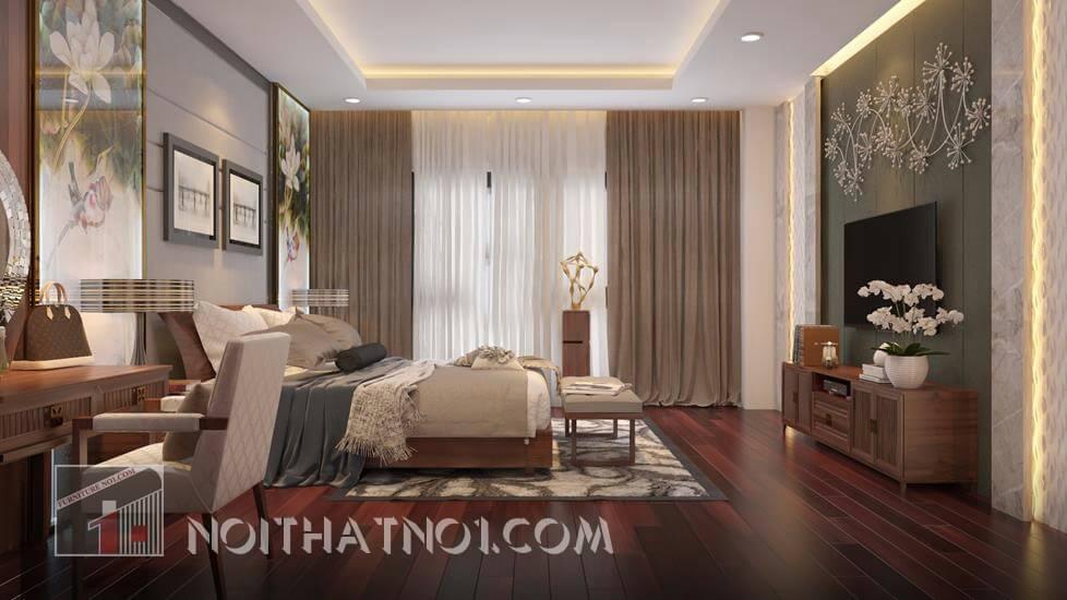 Chọn gỗ tốt cho phòng ngủ đẹp cao cấp