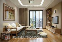 Giá bàn ghế phòng khách chung cư đẹp hiện đại