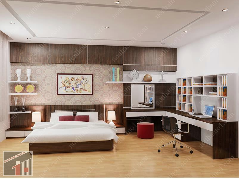 Mách bạn Địa chỉ bán giường ngủ gỗ công nghiệp tại hà nội uy tín