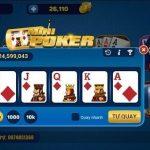 Game mini poker là kết hợp giữa Slot machine và Poker
