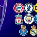 8 đội lọt vào vòng tứ kết cup C1 châu Âu năm 2021
