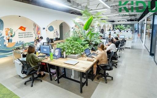 Xu hướng thiết kế văn phòng xanh kiến tạo môi trường làm việc tốt cho sức khỏe