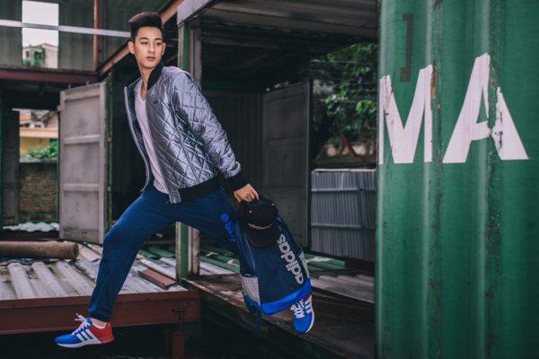 Phối đồ nhiều lớp cùng Adidas utra Boot